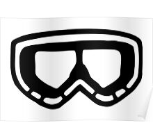 Snow Goggles Poster