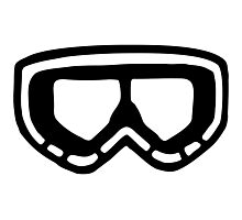 Snow Goggles Photographic Print