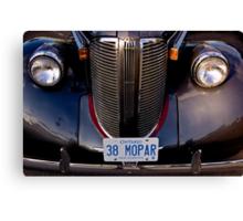 1938 Chrysler Mopar Canvas Print