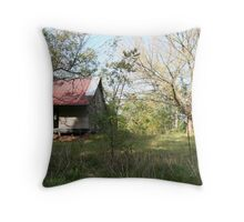 PIONEER HOUSE Throw Pillow