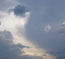 Face in clouds by impala01gurl