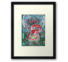 Allergic To Mirrors Framed Print