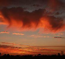 Orange cloud  Tatura 330 by AndrewBentley