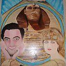 Queen Diana & King Dodi -  Egyptian Kingdom by Sunil