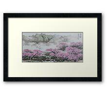 Beautiful spring   v1 Framed Print