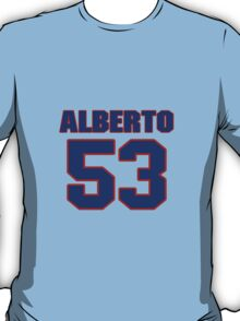National baseball player Alberto Castillo jersey 53 T-Shirt