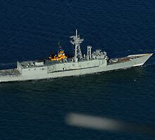 ex-HMAS Canberra FFG 02, Royal Australian Navy by Allen Gray