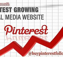 Benefits of Buy Pinterest Followers from Real Source by AlbertLee