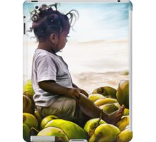 Child on Coconuts iPad Case/Skin