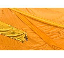 Orange robes Photographic Print