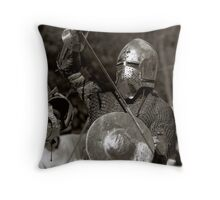 Defend Throw Pillow