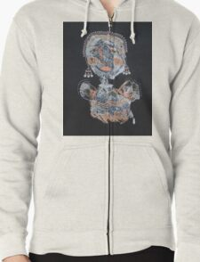 All Dressed Up Zipped Hoodie