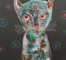 Moody Cat by Bea Roberts