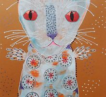 Patterned Cat by Bea Roberts