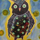 Cross Owl by Bea Roberts
