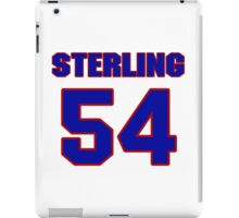 National baseball player Sterling Hitchcock jersey 54 iPad Case/Skin