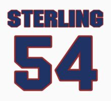 National baseball player Sterling Hitchcock jersey 54 by imsport