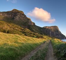 Mount Lidgbird and Mount Gower by Geoffrey Chang