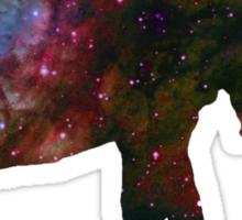 Space Galaxy Elephant Thing Sticker