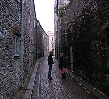A Plymouth Street by Ian McKenzie
