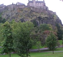 Edinburgh Castle by Ian McKenzie