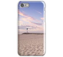 Sunset at City Beach iPhone Case/Skin