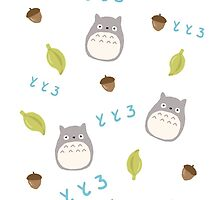 Totoro pattern by ponpons