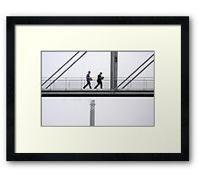 Bureaucracy goes up in smoke Framed Print