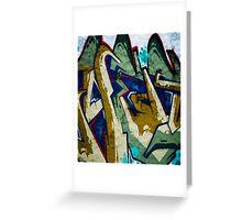 Graffiti. Street Art in Australia 5 Greeting Card