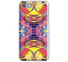 Abstract Colorful Symmetry  iPhone Case/Skin