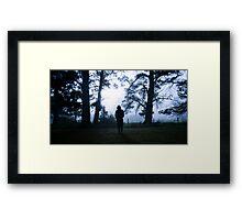 Mourning Morning Framed Print