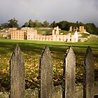 Port Arthur fence by Martin Pot