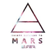 30 Seconds To Mars Universal Photographic Print