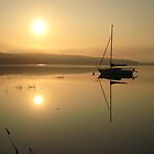 Massabesic Lake  by Lesley Morgan
