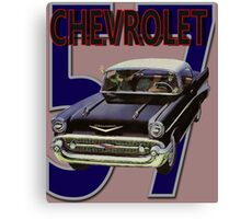 57 Chevy Canvas Print
