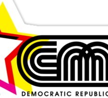 CMYK Republic Sticker