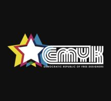 CMYK Republic (Dark) T-Shirt