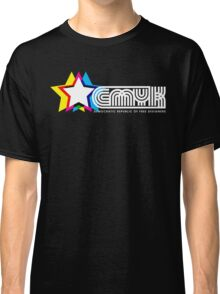 CMYK Republic (Dark) Classic T-Shirt