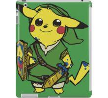 link pikachu iPad Case/Skin