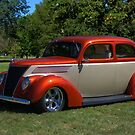 1937 Ford Sedan Hot Rod by TeeMack