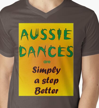 Aussie Dances Mens V-Neck T-Shirt