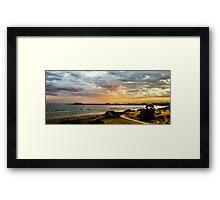 East Beach Framed Print
