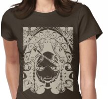 1 Step To Become Grimoire Weiss Womens Fitted T-Shirt