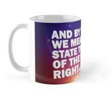 """And By Country..."" - Pointless Mug Mug"