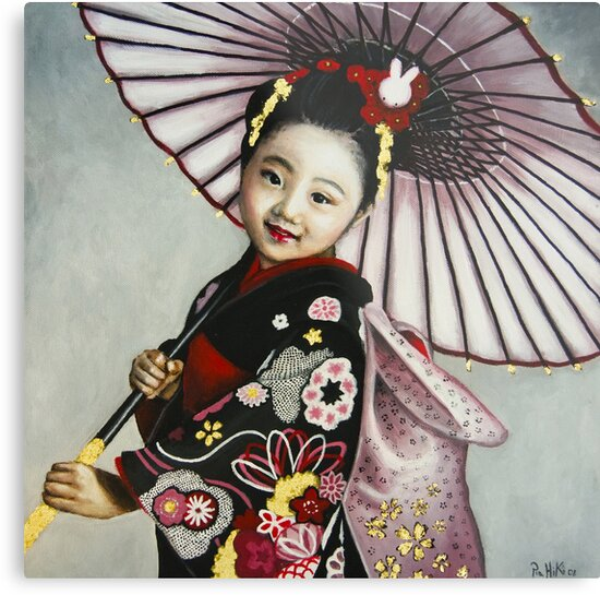 Japanese Girl by Pia  Hiki