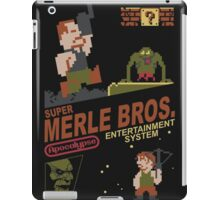 walking dead nes iPad Case/Skin