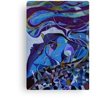colors of the night Canvas Print