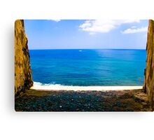 fort view Canvas Print