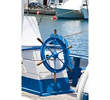 sailor wheel Photographic Print