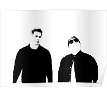 22nd jump street - Boss - Black n white Poster